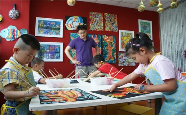 新艺代少儿美术教育